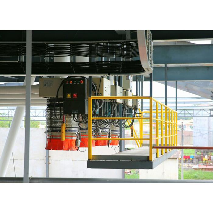 伸缩溜管散装车每小时100-500吨